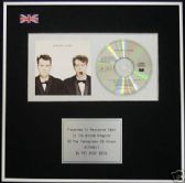 PET SHOP BOYS - CD Album Award - ACTUALLY